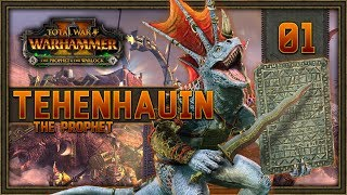 [1] Total War: WARHAMMER II (Tehenauin - Prophet of Sotek) - Prophet & the Warlock w/ SurrealBeliefs