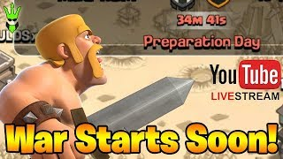 WAR SOON! Live TH9 and TH10 Hits!  | !spin | !Sponsor