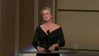 [HD] Meryl Streep Salutes Robert De Niro @ Kennedy Center Honors 2009