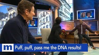 Puff, puff, and pass me the DNA results! | The Maury Show
