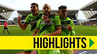 HIGHLIGHTS: Milwall 1-3 Norwich City