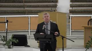 """Разбор Священного Писания 07 апреля 2021 года. Церковь ЕХБ """"Преображение"""" г. Сарань."""