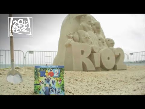 Rio 2 Sculpture by Sand Master Rusty Croft