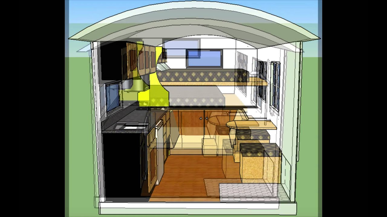 2 Story House Floor Plans 8x12 Tiny House 2 Hd 1080p Youtube