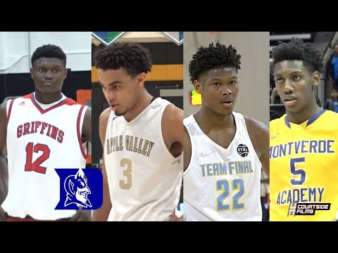 Duke Has Already Landed The Top Recruiting Class of All Time! Zion, Cam, Barrett & Jones!
