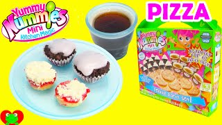 Yummy Nummies Deluxe Pizza Party Set with Cupcakes and Soda