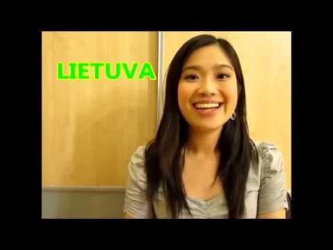 Kinu kalba Vilniuje, Lietuvoje - Pirma pamoka (Mandarin.lt)