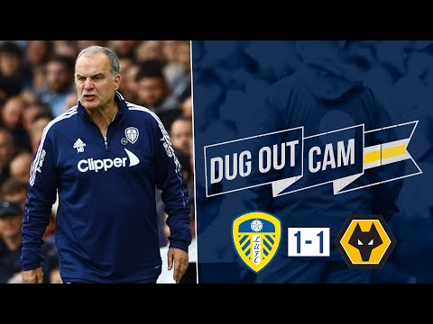 HUGE celebrations from Bielsa as Rodrigo scores late penalty! | Dugout Cam | Leeds United 1-1 Wolves