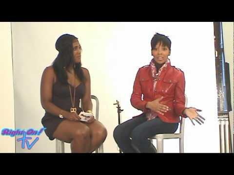 Right On! TV Interview With Monica - Part 1