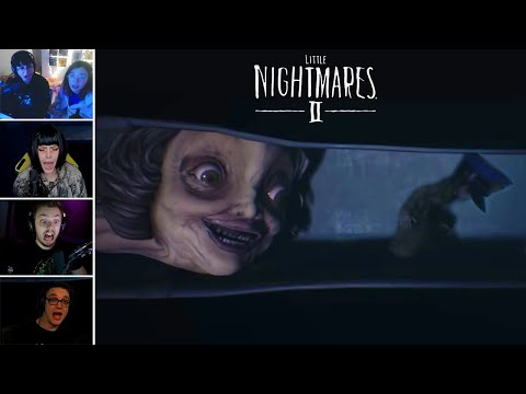 Little Nightmares II Top Twitch Jumpscares Compilation (Horror Games) |