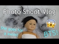 Photoshoot Vlog (What to do When Your American Girl Doll Gets Wet)