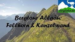 Tour über Oberstdorf: über den Fellhornkamm, zur Gehrenspitze und zur Kanzelwand.