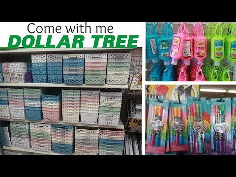 DOLLAR TREE * NEW FINDS!!! COME WITH ME 7-26-19