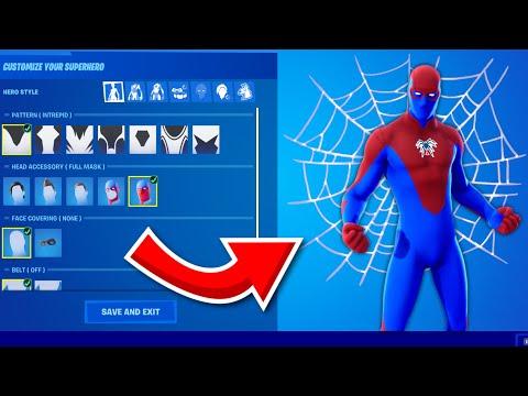 How to UNLOCK Spiderman in Fortnite Season 4!  (Custom Superhero Skin)