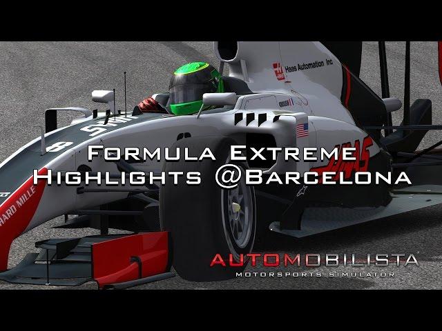 Automobilista Motorsports Simulator - Formula Extreme @Barcelona