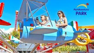 Порт Авентура это самый лучший парк аттракционов! По мнению семьи Olivia Vlog   Испания PortAventura