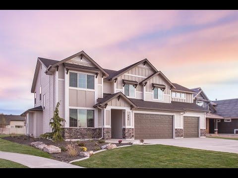 New Homes By Eaglewood The Tuscany Guest In Boise Idaho Youtube