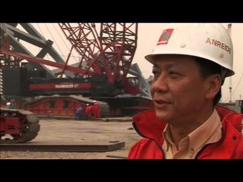 Mammoet - Building a bird's nest - Beijing, People's Republic of China (2006)