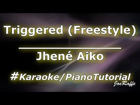 Jhené Aiko - Triggered (Freestyle) (Karaoke/Piano Tutorial)