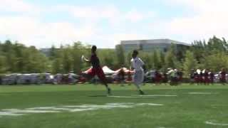 Alabama commit, Calvin Ridley makes a nice one handed catch