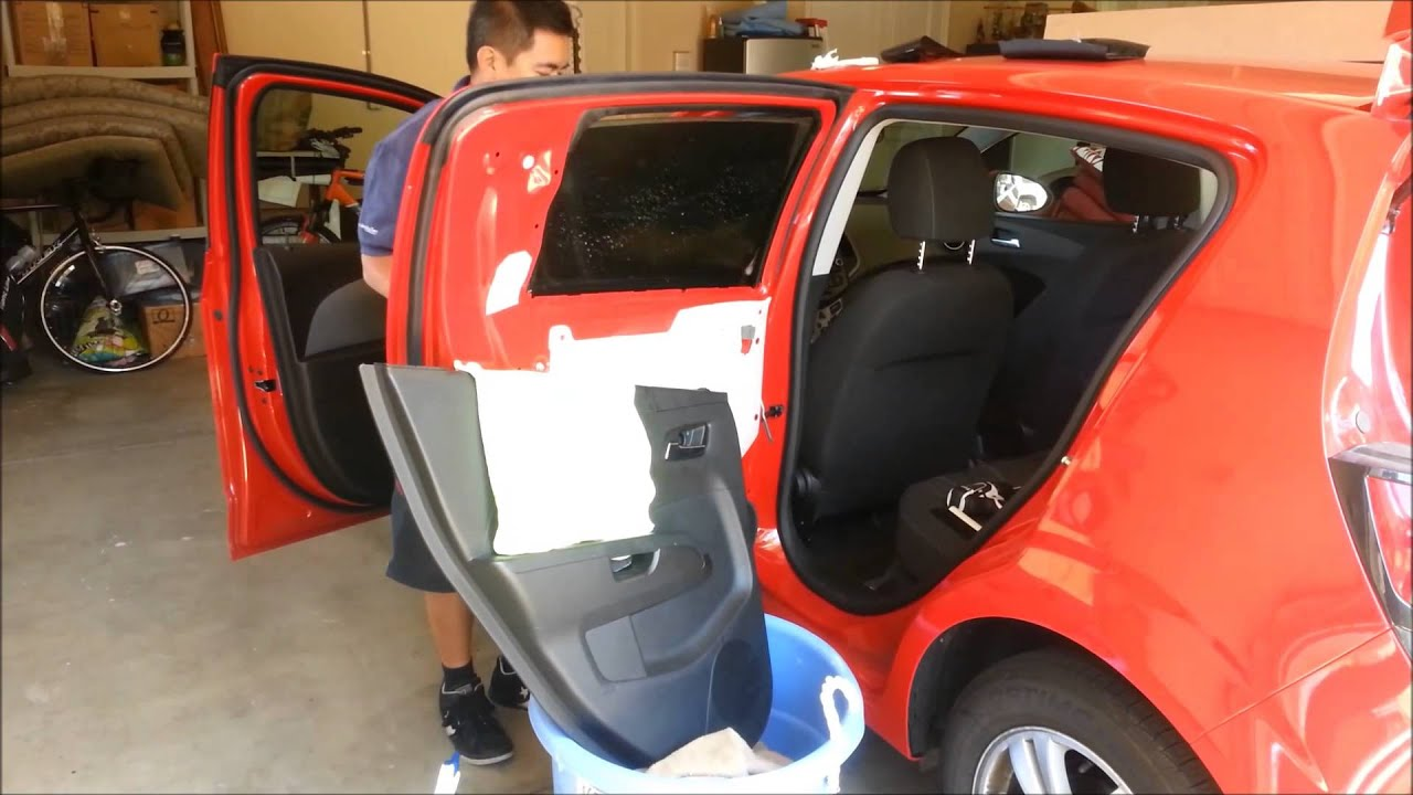 Chevy San Diego >> 2012 Chevy Sonic Hatch getting Tinted by Xcessive Trends San Diego - YouTube