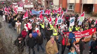 Streik Öffentlicher Dienst 12.4.2018 Hamburg