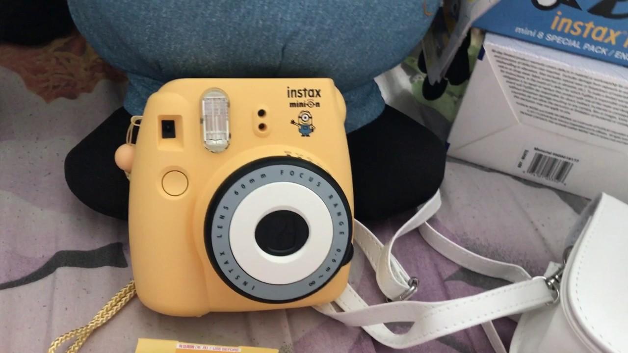 Minion Camera Case : Minion instax mini 8 youtube