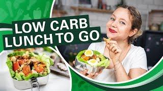 Low Carb Essen zum Mitnehmen - Der Sattmacher - Lunch to Go!