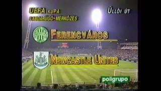 Ferencvaros vs Newcastle United 3-2