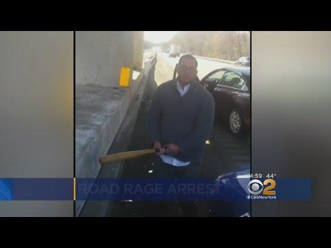 Video Shows Road Rage Driver Smashing Car Windows, Attacking With Bat