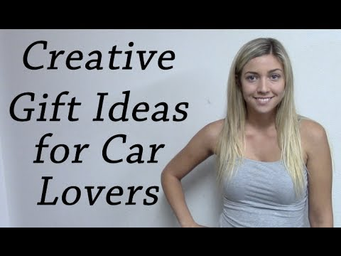 creative gift ideas for car lovers youtube. Black Bedroom Furniture Sets. Home Design Ideas