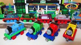 Мультики про паровозики и поезда. Игрушки паровозик Томас и его друзья. Железная дорога для детей