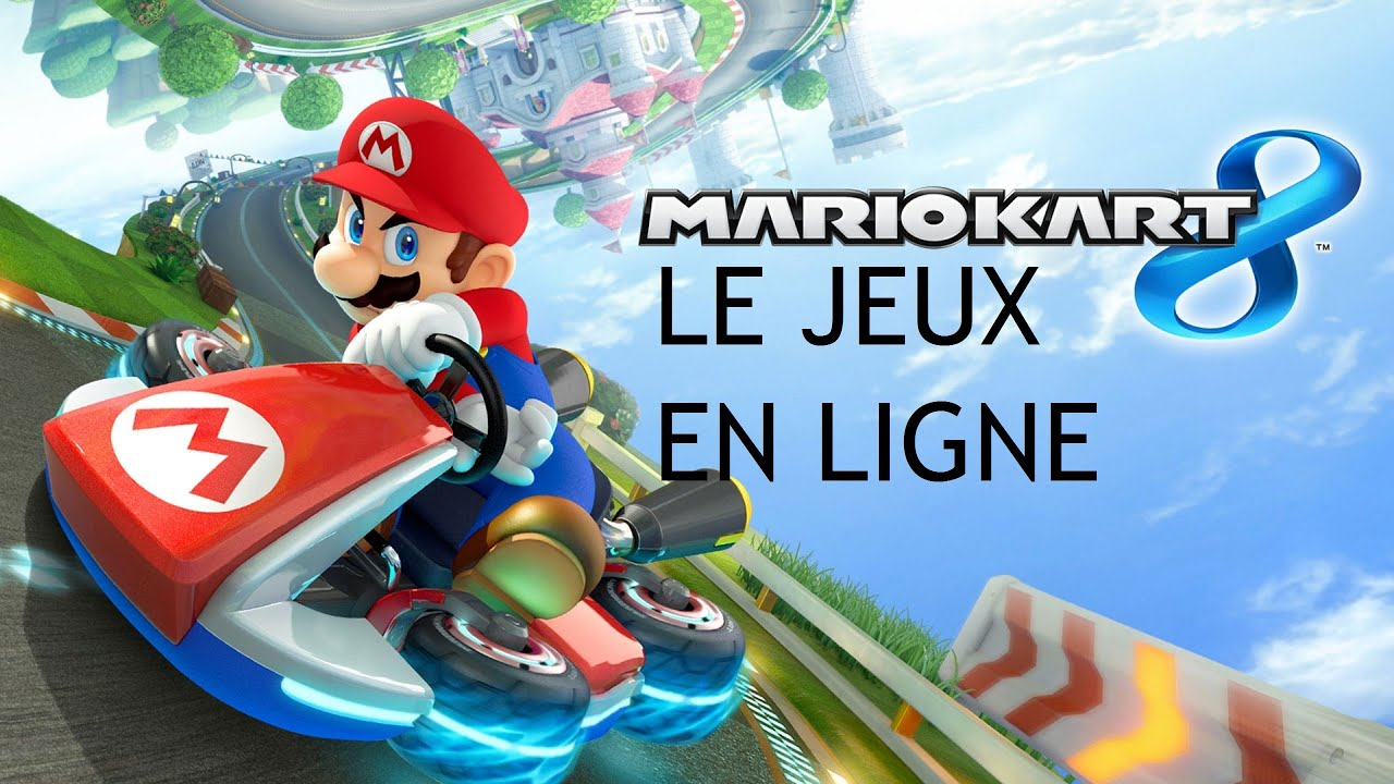mario kart 8 le jeux en ligne youtube. Black Bedroom Furniture Sets. Home Design Ideas