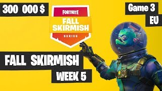 Fortnite Fall Skirmish Week 5 Game 3 EU Highlights (Group 1) - Royale Flush