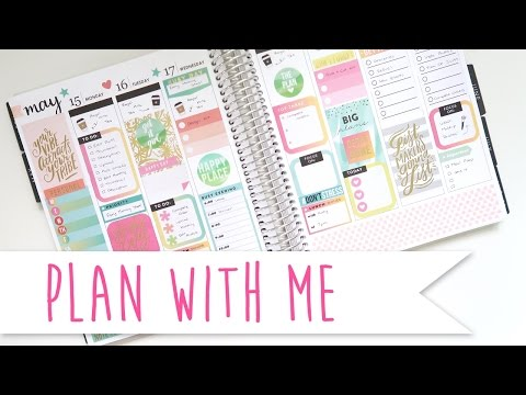 Plan With Me - MAMBI Stickers only ~ A Beautiful Fable