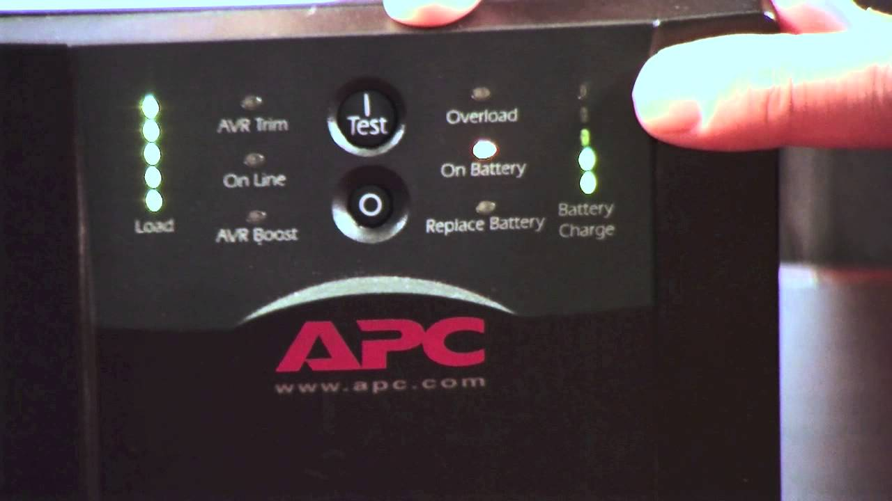 What S Your Apc Ups Telling You Youtube