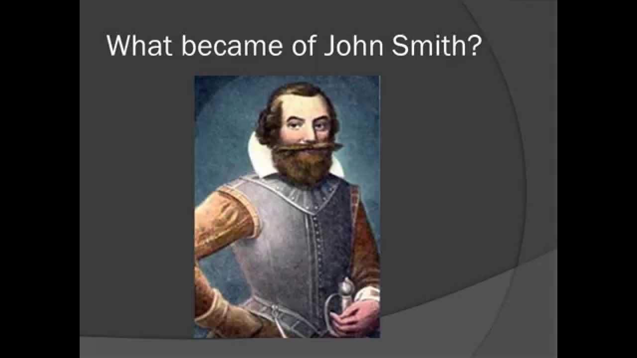 Captain essay john smith