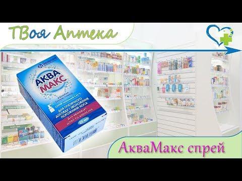 Аквамакс спрей ☛ показания (видео инструкция) описание ✍ отзывы - натрия хлорид