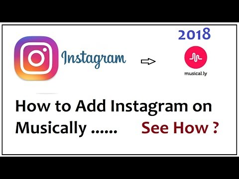 How to Add Instagram on Musically