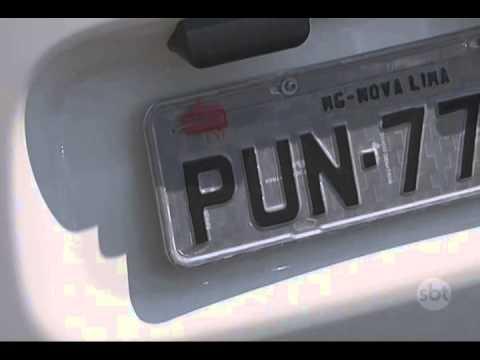 Carro In English >> Conheça as placas de carro que viraram motivo de piada em BH - YouTube