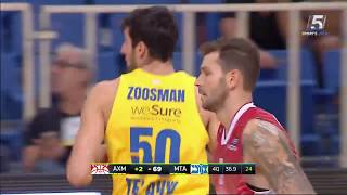 Highlights: Olimpia Milano - Maccabi FOX Tel Aviv 78:69