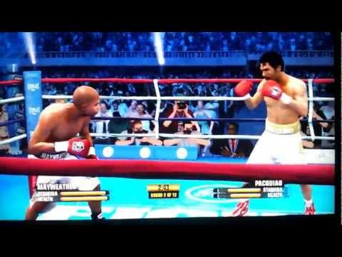 Fight Night Champion - Mayweather Vs Pacquiao 2 (Exclusive Knock Outs) No Internet Productions lol