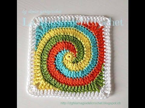 Crochet Pattern Granny Square