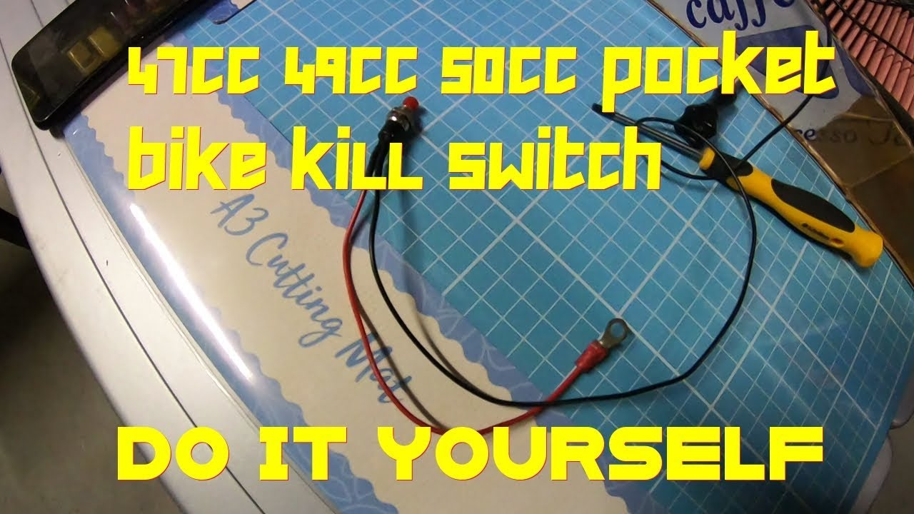 Pocket Bike Kill Switch WITH ONE WIRE