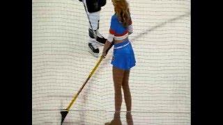 New York Islanders vs San Jose Sharks 10-17-2009 Sexy Ice Girls
