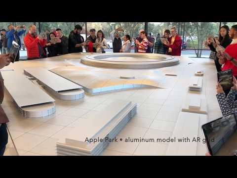 Apple Park AR vision