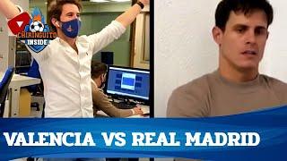 💣EDU AGUIRRE, HUNDIDO... ÁLEX, COMO LOCO con el Valencia 4-1 R.Madrid | Chiringuito Inside