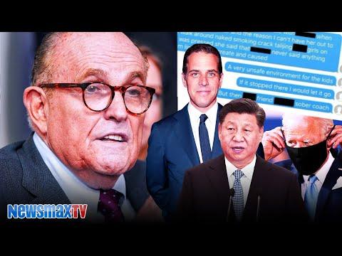 What I found on Hunter's hard drive | Rudy Giuliani