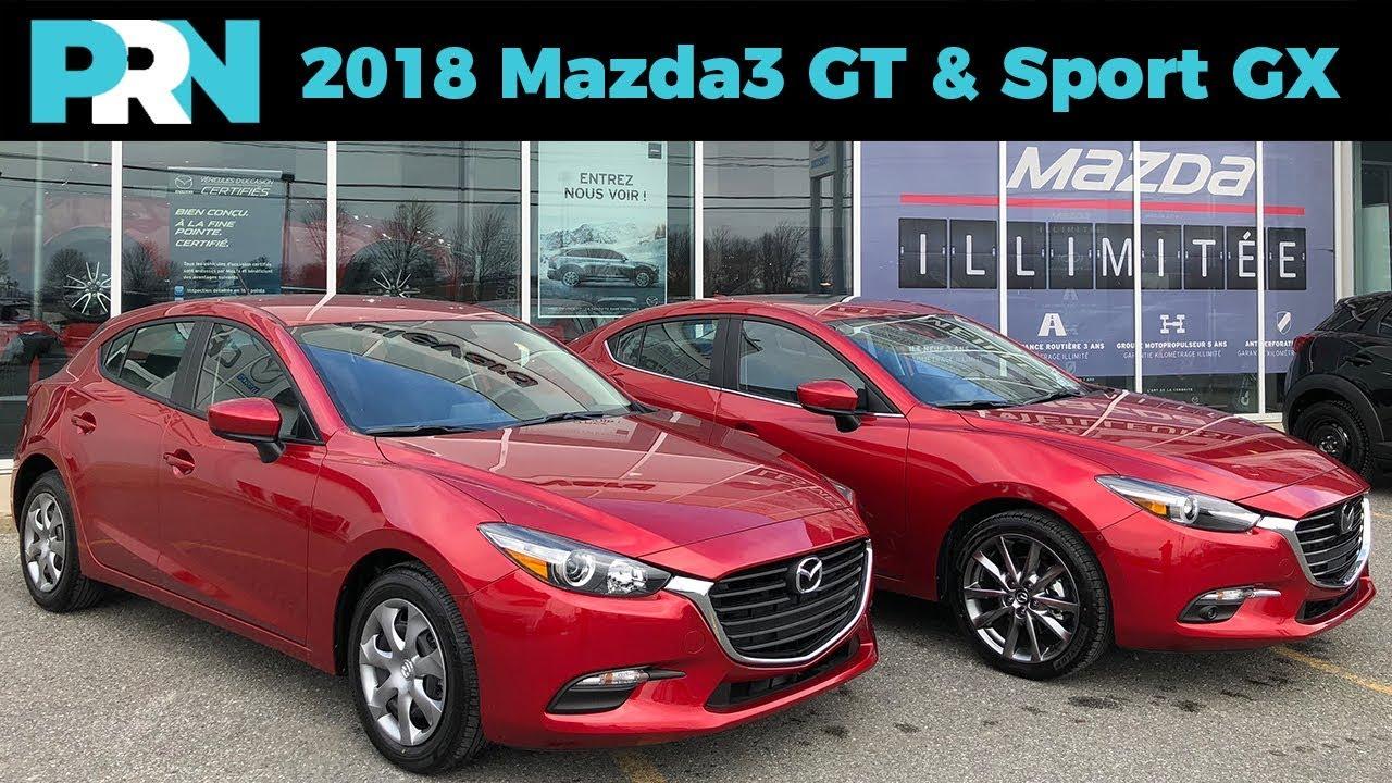 2018 Mazda3 Gt Sport Gx Testdrive Spotlight