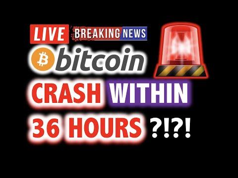 BITCOIN MIGHT CRASH Within 36 Hours?! 💥 LIVE Crypto Analysis TA & BTC Cryptocurrency Price Dump News